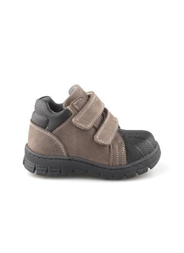 Cici Bebe Ayakkabı Cicibebe Nubuk Cırtcırtlı Erkek Çocuk Bot Bej